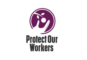 Protect Our Workers logo