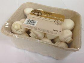 Tesco trials pulp mushroom punnets
