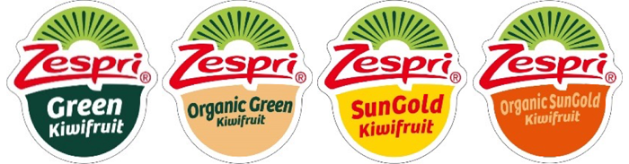 Zespri labels