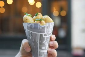 Jersey Royals pop up in central London