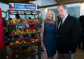 Chilean fruit lands in US capital