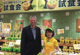 Zespri targets Japanese growth