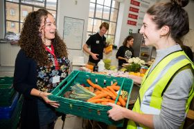 Surplus fruit and veg redistribution rises