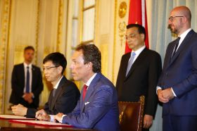 Antwerp lines up China collaboration