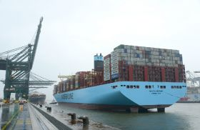 Madrid Maersk breaks Antwerp record
