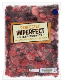 Tesco adds frozen berries to Perfectly Imperfect range