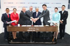 Delta and Korean Air enter joint venture