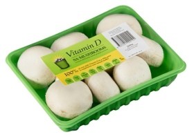 Mushroom delivers vitamin D
