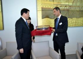 CMA CGM marks Shanghai partnership