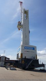 New crane to help lift capacity at Portsmouth