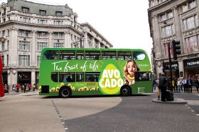 London buses get an avo makeover