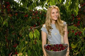 Waitrose promotes cherries on TV