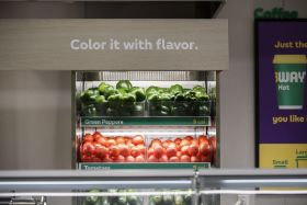 Subway unveils new format built around fresh produce