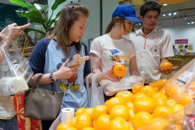 Mandarins star in Now! In Season campaign