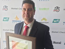 Andrew Bulmer named Farmer of the Year