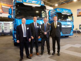 First driverless lorries roll onto UK roads