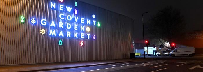 Brand revamp for New Covent Garden Market