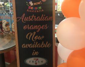Aussie citrus on show at 7-Eleven Philippines