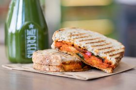 Third Veggie Pret opens in London