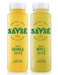 Savsé unveils new juice bottle design