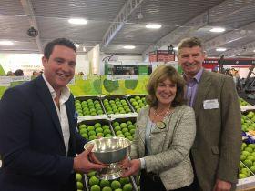 Bardsleys' Bramleys win big at National Fruit Show