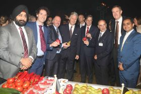 Belgians promote topfruit in India