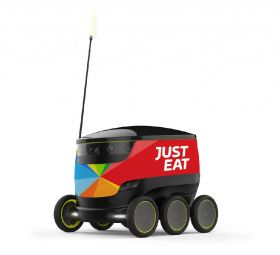 p20 small GB Just Eat robot delivery