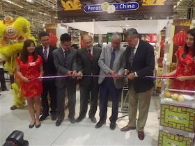 Chinese pears debut in Chile