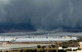 Tornados hit Almerían greenhouses