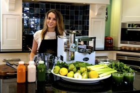 Young entrepreneur sees juice sales double