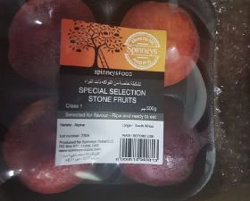 Spinneys pioneers stonefruit project