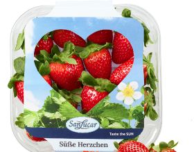 SanLucar says it with strawberries