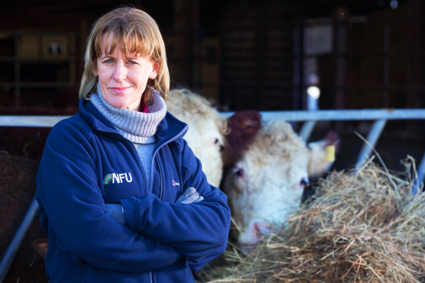 National Farmers' Union elects first female president