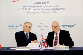 CMA CGM to build logistics facility at London Gateway