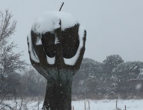 Snow impacts southern France
