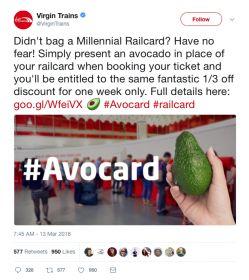 #avocard tweet