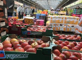 French strikes hit topfruit exports