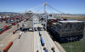 Agriculture shipments rise at Port of Oakland