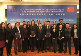 Young Chinese farmers visit EU