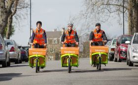 Sainsbury's trials electric bike deliveries