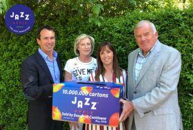 Enzafruit sells ten-millionth Jazz carton