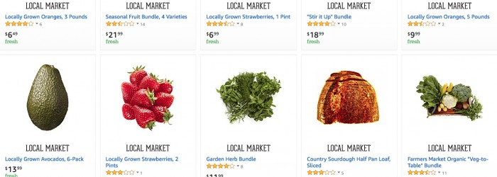 AmazonFresh ditches local sellers