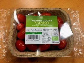Waitrose uses packaging made of tomato plants
