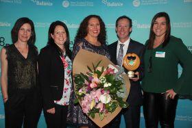 Kiwifruit growers win sustainability award