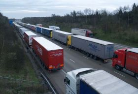 Haulage hoping to see Dover traffic ease up