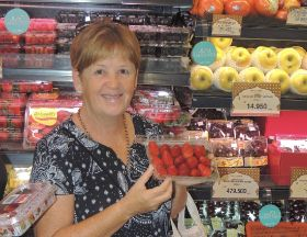Queensland strawberries shine in Asia