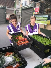 Borough Market celebrates food rescue landmark