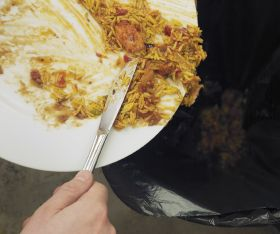 UK food waste falls seven per cent