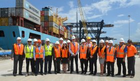 Super-sized cranes heading to Port Everglades