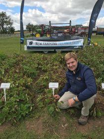 Drones to help with potato vine kill